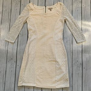 Anthropology Lace Dress Small